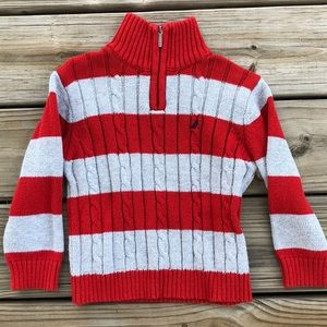Striped Nautica Pull-Over
